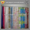 chinês estilo de banheiro de plástico transparente de pvc cortina de chuveiro