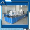 Investigación laboratorio diseño, Galnanized acero Bench laboratorio