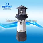 outdoor Lighthouse solar garden Light