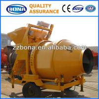 JZC350 China Top Portable Concrete Mixer with Plastic Drum
