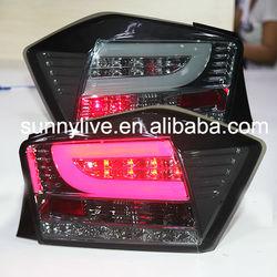 For HONDA 2008-2011 year For City LED Rear Light for Smoke Black Color SN