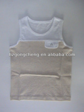 100% Organic Cotton Baby Clothes Baby T-shirt