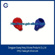 Customized Unique Design top quality silicon gel rubber earphone cover