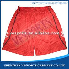 Black basketball short
