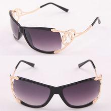 Metal women summer sunglasses