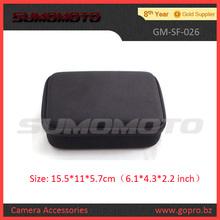 Black EVA Portable protective camera bag for Gopro Accessories Hero 2/3