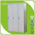 inoxidável armário armário de aço ou de ferro pequena roupeiro design