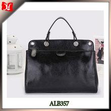 Simple tote ladies handbags cow leather handbads fashion ladies handbags