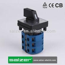 Salzer rotary interruptores de levas sa25 3-3( tuv, ce y cb aprobado)