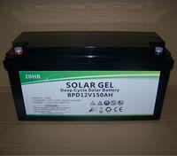 Best price of 12v 150ah deep cycle solar gel battery