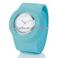 Promotion GIft -Fashion cheap wholesale silicone kids slap band watches