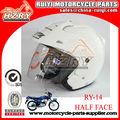Barato del nuevo del estilo del tirón hasta la motocicleta del casco venta casco de seguridad