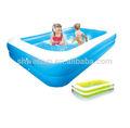 inflável swim center família pool
