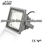 Green light CE, FCC, RoHS, TUV, UL high power COB LED flood light 130W Meanwell driver AC90-265V IP65