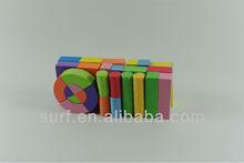 SURF foam intelligence plastic building block