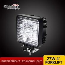 "New 4"" 27W off road 4x4 utv jeep led lamp led working light driving light sm6271"