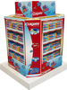 Oral care toothpaste cardboard display pallet for shippment & supermarket retail