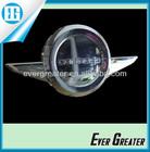 Adhesive car decorations dome badges Custom Chrome auto badge logo Custom car emblems chrome auto metal chrome emblems