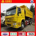 SINOTRUK howo 6x4 damperli kamyon zz3257n3647,15- 17m3 hacmi