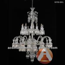 36 Light Baccarat Crystal Chandelier Large