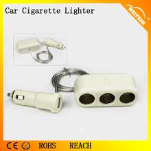 12V Car Cigarette Lighter 3 Way Socket Car Cigar Lighter Used in Dubai
