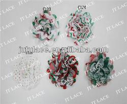 chiffon flower headband chiffon lace flower chiffon flower applique