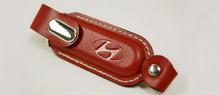 original gift key chain usb flash drive leather in shenzhen