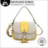 2014 Stylish Flip-open Cover Fabric Shoulder Long Strip Bag