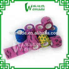 5/10/15cmx4.5m Dog Printed Elastic Cohesive Bandage ( ce/fda certificate hot sale)!!!