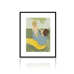 Under the Chestnut Tree Expressionist Children Famous Art