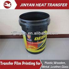 PET film heat transfer