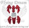 CRF50 orange plastic body kits pit bike parts&dirt bike parts