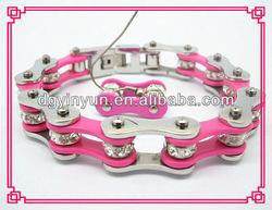 Dongguang manufacturer motorcycle steel bracelet for sports-- YinYun brand