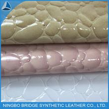 2014 Hot New Arrival Shoe Upper Croco PU Leather