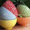 الساخن بيع الخزف الملون وعاء تنقش. هدية ترويجية، صحن الخزف المصنوعة في الصين