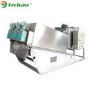 (Patent Product, Top 1 Manufacturer) Techase Sludge Dewatering Screw Press