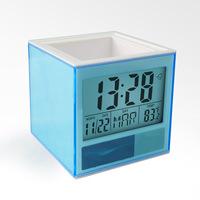 unique office silent desk clock designs