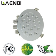 HOT sale !!High power indoor decorated led cree downlight made in China LDT-15*3W-C
