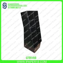 Cardboard coop floor display stand