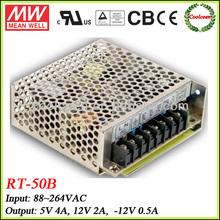 Meanwell RT-50B 50w Triple switching power supply 5v 12v -12v