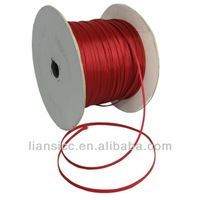 High density 500 Meter 5mm Matt Red pet expandable cable protection braided sleeve