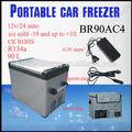 DC12V/24v casa frigorifero portatile mini frigo congelatore per auto portatile