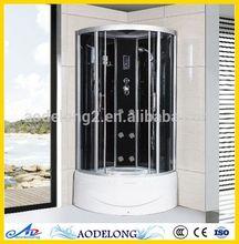 Simple Fiberglass standard size enclosed shower room