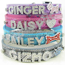 Dazzling Paillette Dog Cat Pet Personalized Collar
