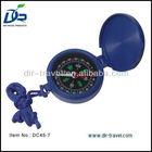 plastic fold magnetic compass DC45 7