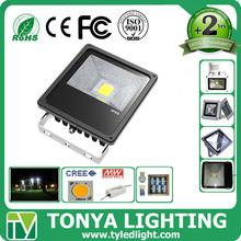 10w PIR sensor Aluminum CE ROHS outdoor led basketball court flood light