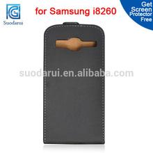 Case For samsung Galaxy Core I8260 I8262 Ultra Slim Leather Flip Case for samsung galaxy core Mix color