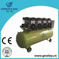 personalizado brand new elétrico silencioso do tipo de pistão isento de óleo pequeno compressor de ar móvel para a venda