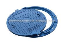 EN124 blue color JINMENG GRP Manhole Cover