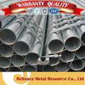 los materiales de construcción de pre tubos de acero galvanied